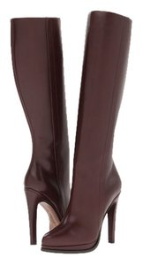 UGG Australia Leather High Heel Tall BRANDY brown Boots