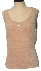 Chanel Beige Cotton Tank Size 36 Sweater