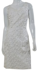 Escada short dress White Applique Polka Dot on Tradesy