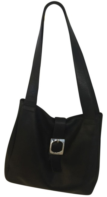 Item - High End Italian Excellent Condition Price Reduced Black Leather Shoulder Bag