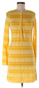 J.Crew short dress Yellow/Stripe on Tradesy