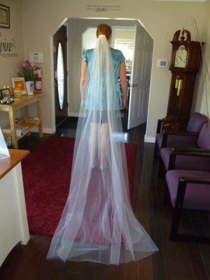 Vera Wang Cathedral Length Veil