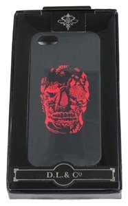 D.L.& Co. Black Delft Skull iPhone 5 Case