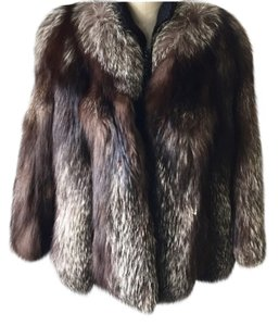 Silver Fox Fur Fur Coat