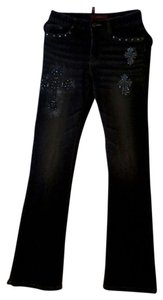 Anion 100% Boot Cut Pants Black