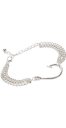 Preload https://img-static.tradesy.com/item/8280943/silver-new-funky-punky-double-band-fish-hook-bracelet-0-2-540-540.jpg
