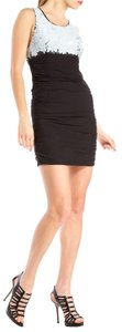 Alice + Olivia short dress Black sequined Mini Sequin Party on Tradesy