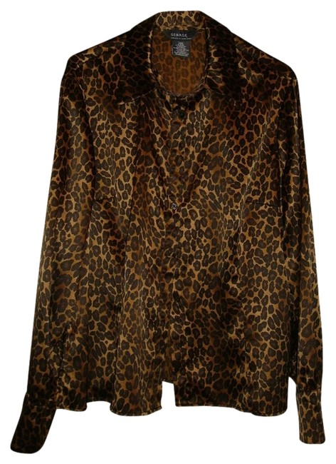 Preload https://img-static.tradesy.com/item/828265/george-multicolor-new-animal-print-blouse-size-16-xl-plus-0x-0-0-650-650.jpg