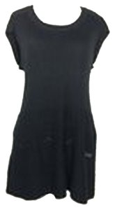 BCBGMAXAZRIA short dress Black #bcbgmaxazria #woolangorablend #sweaterdress on Tradesy