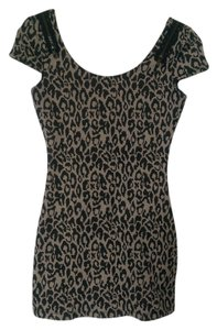 GB short dress Leopard Print on Tradesy