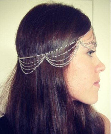 Other Waves Fringe Forehead Head Hair Band Head chain