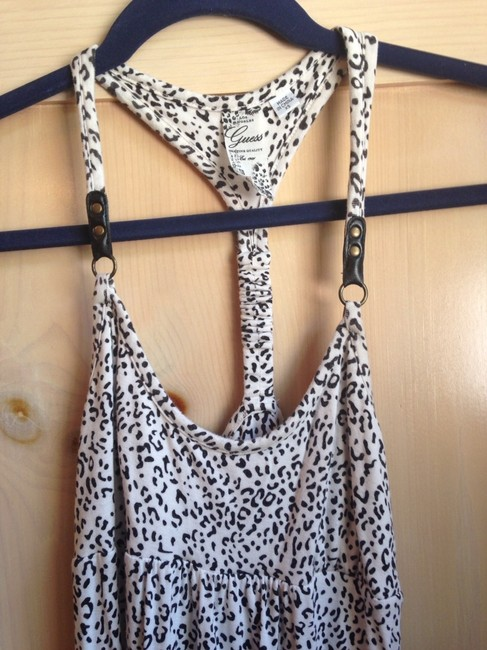 Guess short dress Black/White on Tradesy