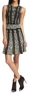 Torn by Ronny Kobo short dress Textured Jacquard Stretchy Print Knit on Tradesy