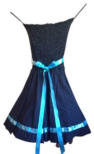 Windsor Strapless Polkadot Dress