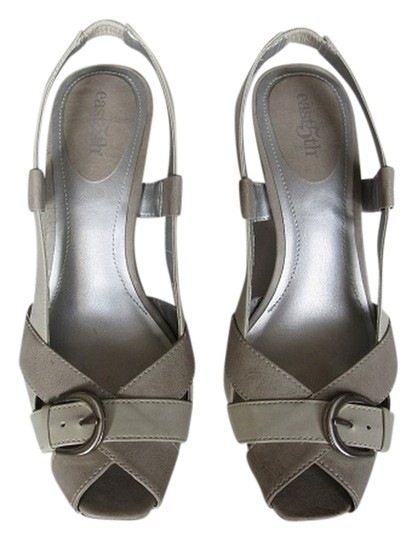 a.n.a. a new approach Florence Multi Grey Sandals