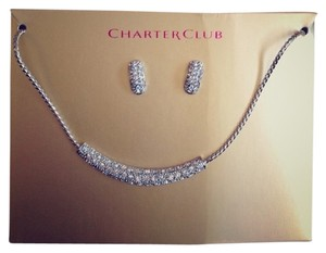 Charter Club Earring and Necklace Set