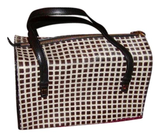 Kate Spade Satchel in Brown and Cream