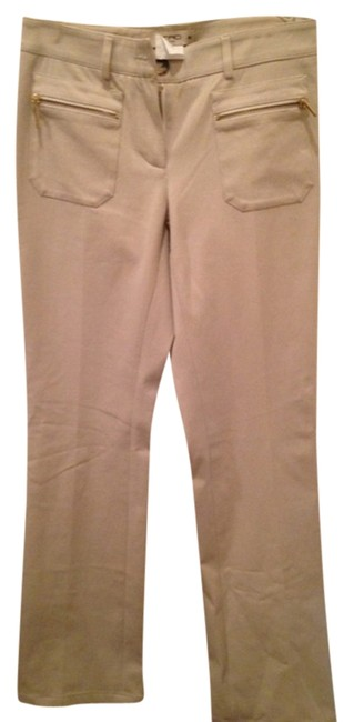Etro Boot Cut Pants Cream