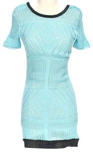 Nanette Lepore Knit Color-blocking Dress