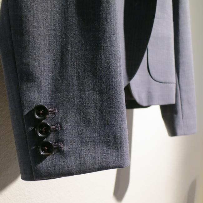 Banana Republic Gray Pinstripe Blazer