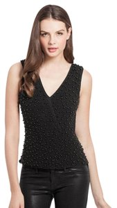 Guess By Marciano Beaded Unique Tie Open Top Black