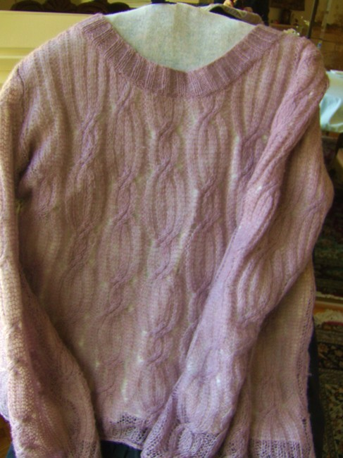 Westbound Mohair Tunic Sweater