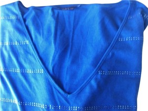 Chaus Top Royal Blue