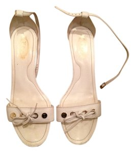 Tod's White Sandals
