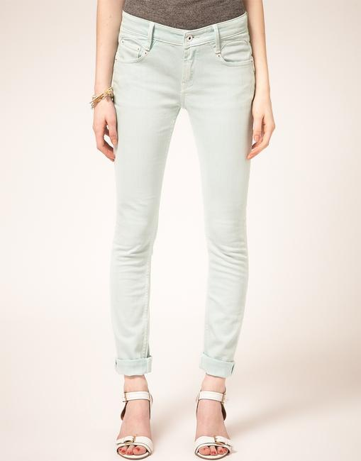 Denham Mint Skinny Jeans-Light Wash