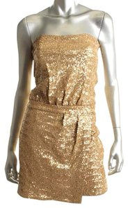 Laundry by Shelli Segal Sequin Mini Holiday Dress