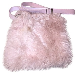 UGG Australia Furry Suede Shearling Cross Body Bag