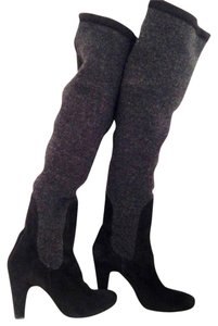 Tashkent by Cheyenne Black and Grey Boots