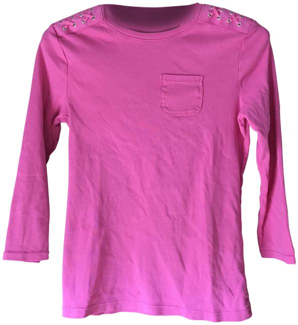 Preload https://img-static.tradesy.com/item/8302060/chaps-pink-x-small-pullover-tee-shirt-size-2-xs-0-8-650-650.jpg