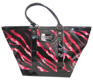 Betsey Johnson Tote in Hot Pink