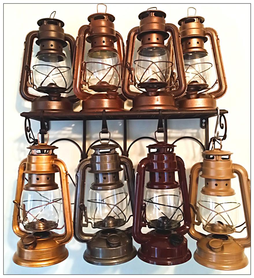 Custom rustic lanterns centerpiece deal lrg reg for