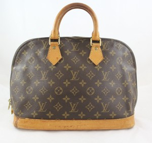 Louis Vuitton Alma Handbag Vintage Satchel in Monogram