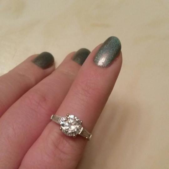 Other Sterling Silver CZ Three Stone Ring