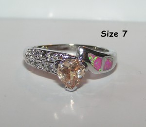 Topaz And Opal Ring Free Shipping