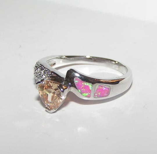 Multi Colored Bogo Free Pink Opal Topaz Free Shipping Ring