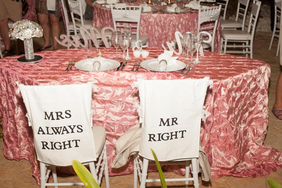 Prime White Black Mr Right Mrs Always Right Chair Covers Machost Co Dining Chair Design Ideas Machostcouk