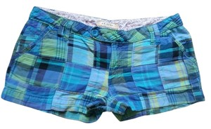 Arizona Jean Company Mini/Short Shorts Plaid