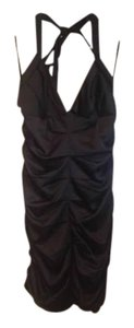 BCBGMAXAZRIA Evening Halter Dress