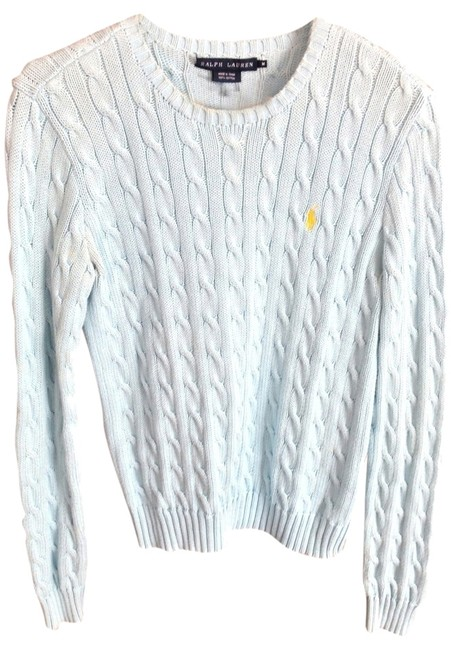 Preload https://img-static.tradesy.com/item/830955/ralph-lauren-light-blue-sweaterpullover-size-4-s-0-0-650-650.jpg