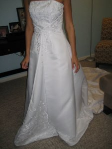 David's Bridal 5268 Wedding Dress