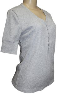 Nicole Miller T Shirt LIGHT GREY