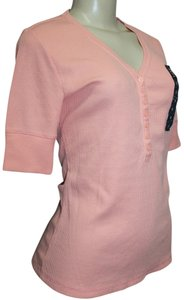 Nicole Miller T Shirt LIGHT PEACH