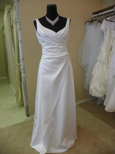 Alfred Angelo Wedding Dress Alfred Angelo Floor Length Size 6 Wedding Dress