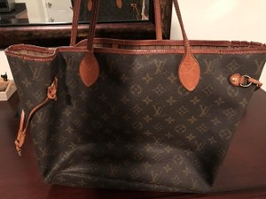 Louis Vuitton Tote in Mongram Canvas