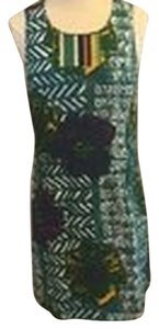 Anthropologie Urban Outfitters Vanessa Virginia Floral Trible Dress