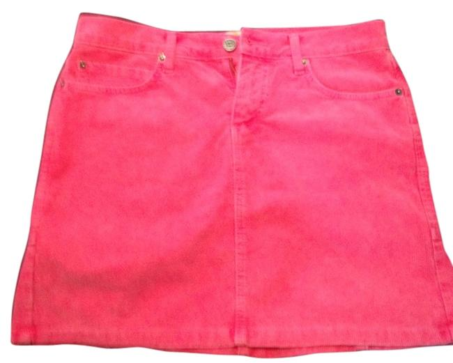 Item - Pink Corduroy Skirt Size 6 (S, 28)